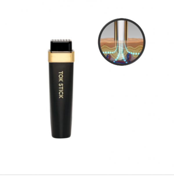 tok stick 18K gold micro needling