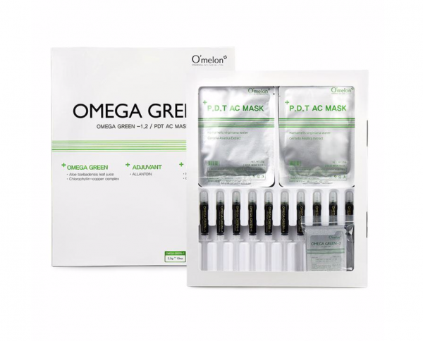 omega green PDT acne therapy